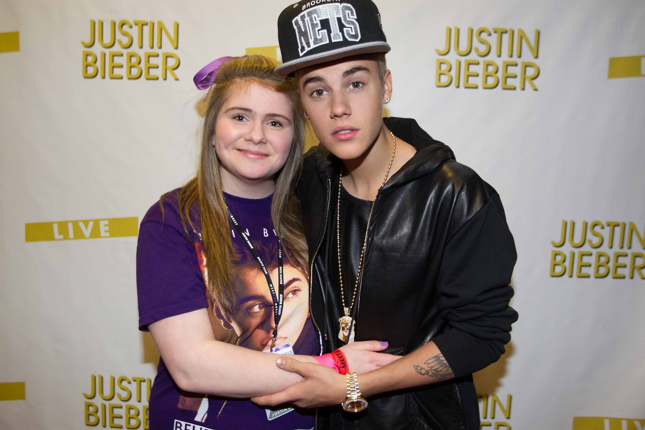 justin bieber meet and greet manchester 2014